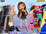 Bratz Sasha Dress Up - Скриншот 1
