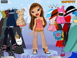 Bratz Sasha Dress Up - Скриншот 2