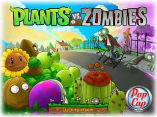 Рослини проти зомбі. Грати онлайн безкоштовно.